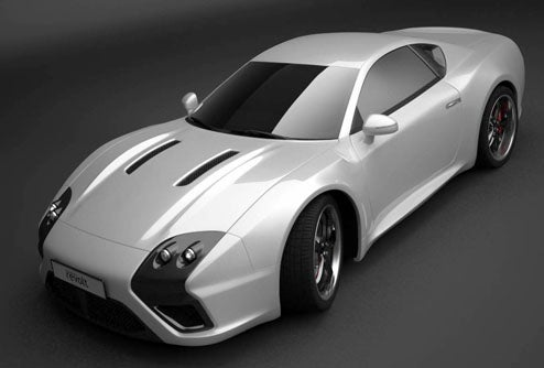 550 HP Russian E-Go Revolt Sports Car Looks Amazing