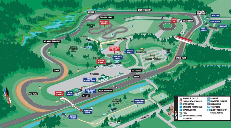 So, I'm going to Lime Rock on the 21st