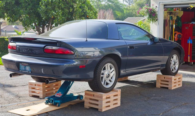 Holy Alternative To Jack Stands Automotive General