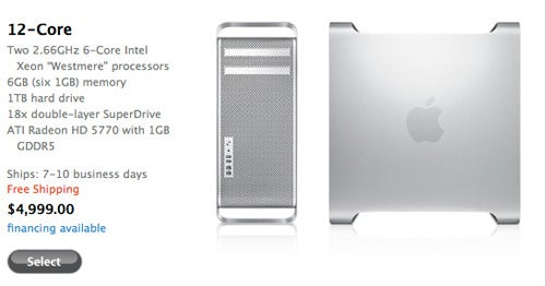 Apple Adds 12-Core Mac Pros to Store