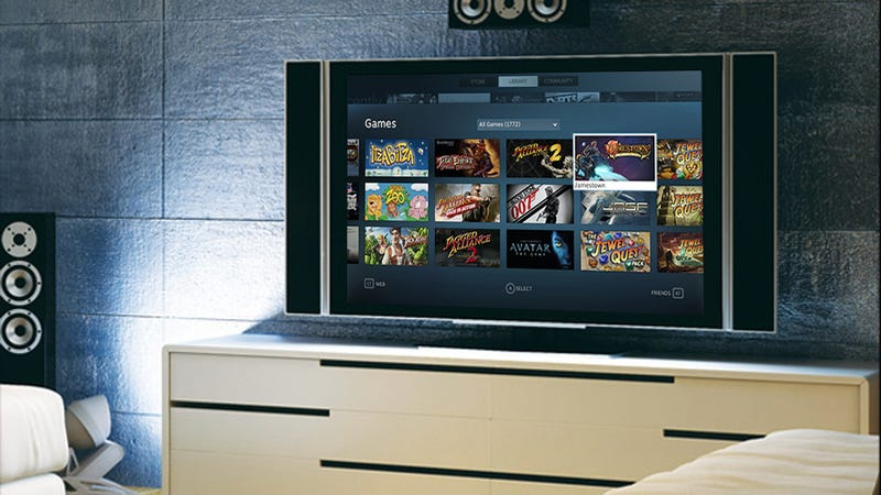 Valve Is Bringing Steam To Your TV Today. Watch Out, Consoles.