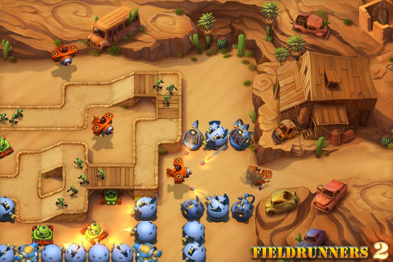We've Waited a Terribly Long Time for Fieldrunners 2