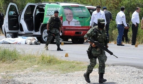 Mexican Candidate for Governor Murdered by Drug Cartels