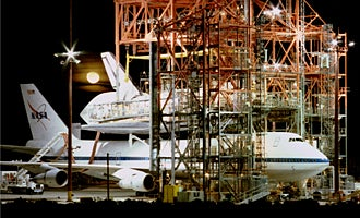 Separating Space Shuttle from 747 Is Easier than It Sounds