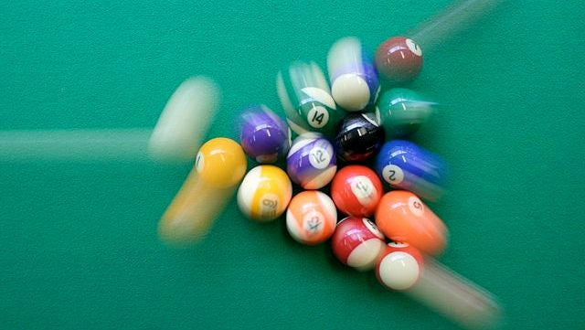 The physical limit of trick shots in billiards