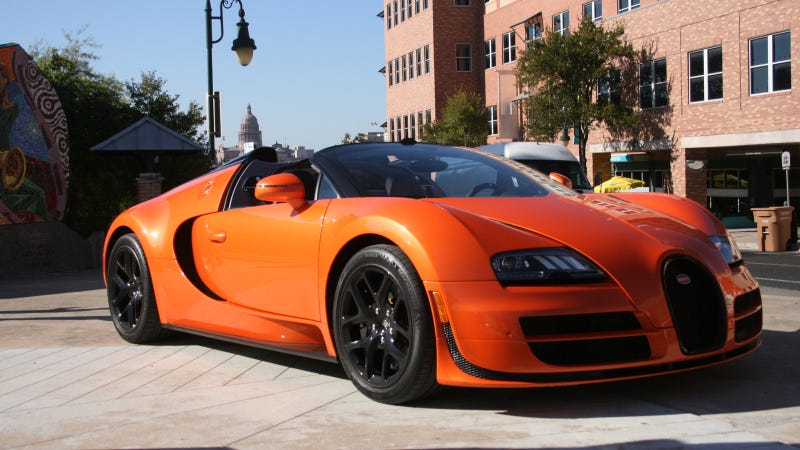 The Burden Of Driving A Bugatti Veyron