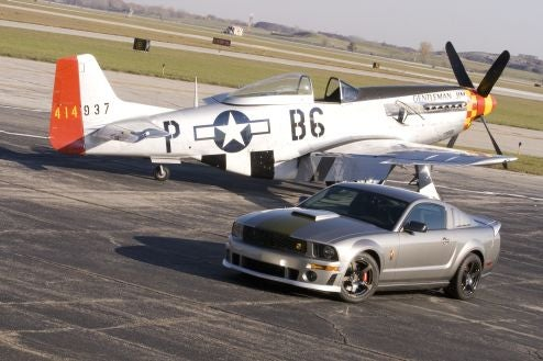2009 Roush P-51B Mustang Dogfights Its Way Into Your Heart