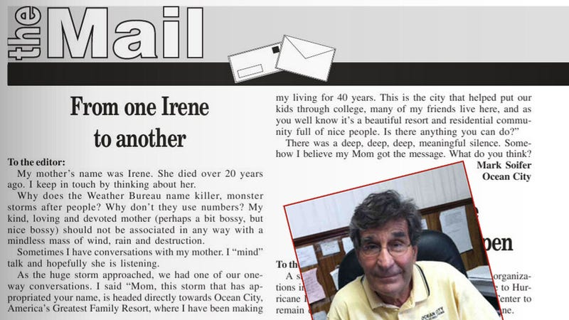 'Why Name Killer, Monster Storms After People?' Asks Son of Nice Lady Named Irene