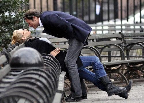 Bench Kissing