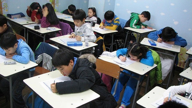 What lessons could public schools take from South Korean cram schools?