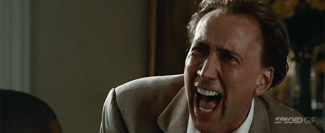 Every single Nicolas Cage laugh ever compiled in one single video