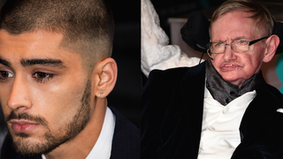 Stephen Hawking Breaks Silence About Zayn