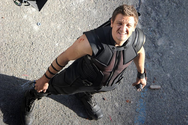 First Look at Jeremy Renner working on Caswell Movie
