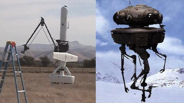 DARPA builds the Imperial Probe Droid from Star Wars, basically