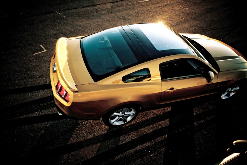 2010 Mustang To Get Glass Roof Just Like 2009...Yawn!
