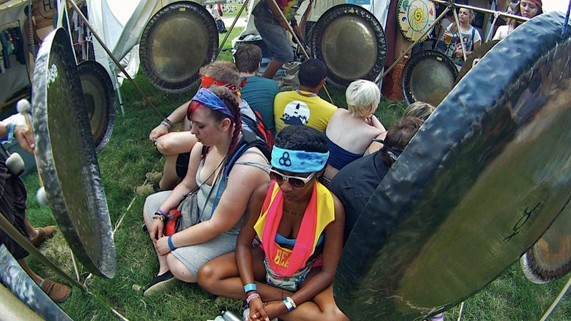 The Time-Out Corner at Bonnaroo Got Weird Pretty Quickly