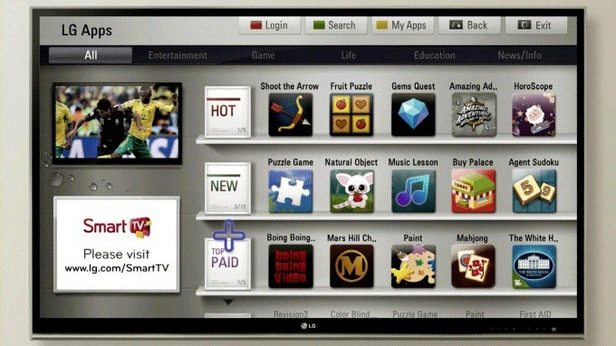 LG TVs in 2011: Smart Software for Film Fans, Apps Ahoy, and New 3D