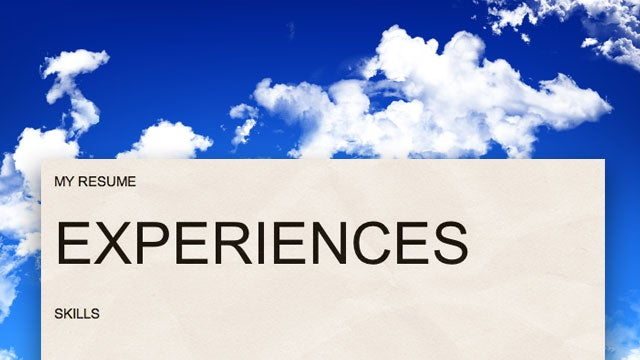Reboot Your Career by Concentrating on Experiences Instead of Skills
