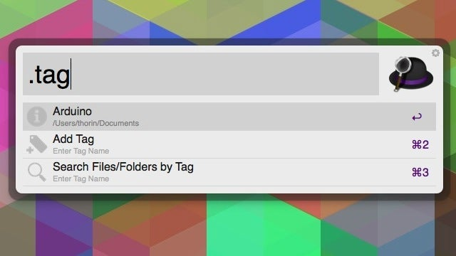 Handle Mavericks Tagging in Alfred with This Workflow