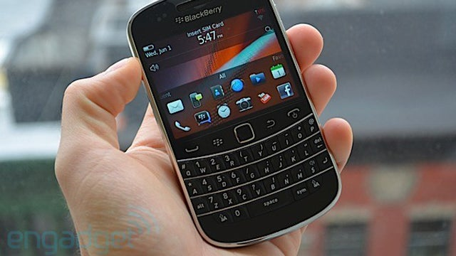 Wow! New Blackberry Bold Looks a Lot Like... Old Blackberry Bold
