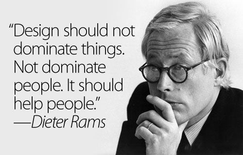 Design Should Not Dominate People. It Should Help People
