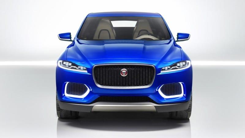 Jaguar C-X17 Crossover Concept: This Is It