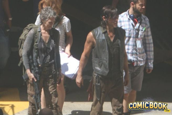 Does a Set Photo Reveal a Walking Dead Reunion?