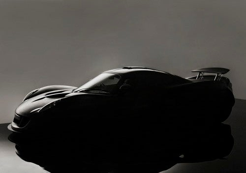 The 1200 HP Hennessey Venom GT Teases Us From The Shadows