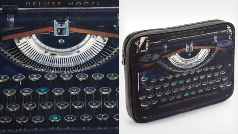 This Nostalgic Laptop Sleeve Won't Let You Miss the Typewriter