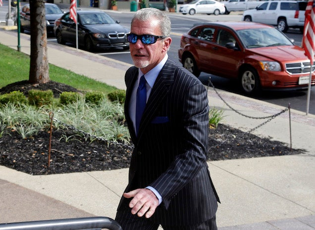 "NFL Players Aren't Happy With Jim Irsay's ""Slap On The Wrist"""