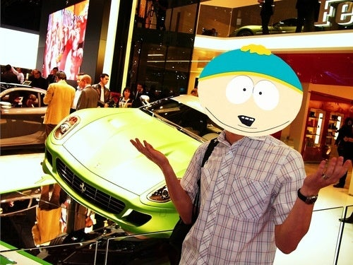 Eric Cartman Explains Hybrid Supercars