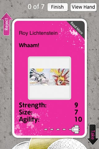 Play Top Trumps With Valuable Artworks Using the Tate Museum's iPhone App