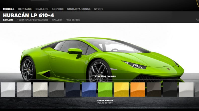 Show Us How You'd Build A Lamborghini Huracan