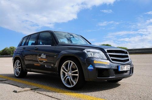 World's Fastest Street-Legal SUV: Brabus GLK V12 Hits 200 MPH!