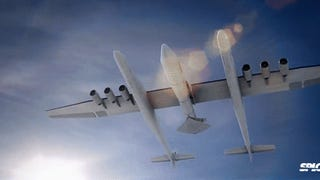First images of the world's largest airplane