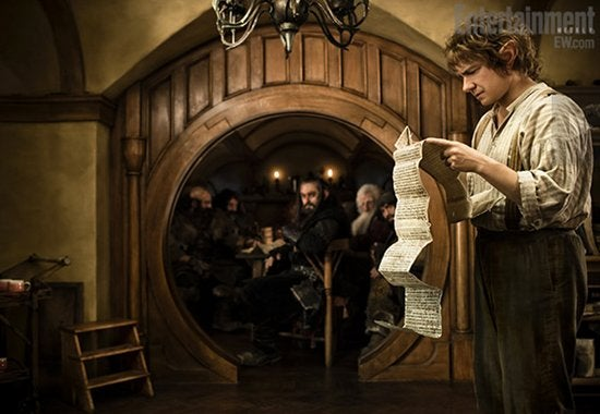 First Official Picture of Martin Freeman as Bilbo Baggins