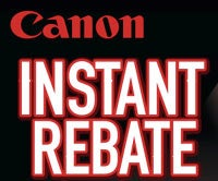 Canon Giving Instant Rebates Up to $300 on DSLRs, Lenses