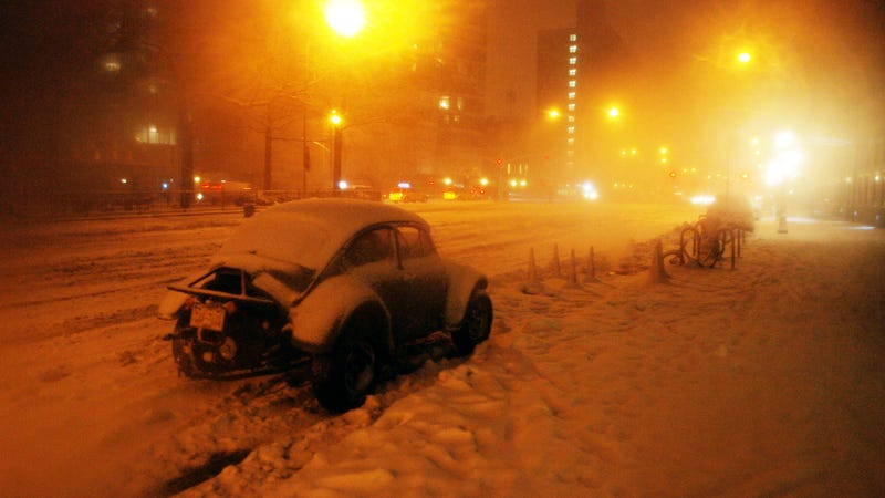 Why I Drive Into Blizzards For Fun