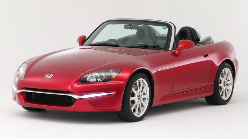 Honda Sticks A Retainer On The S2000, Hopes No One Will Notice It's Dead