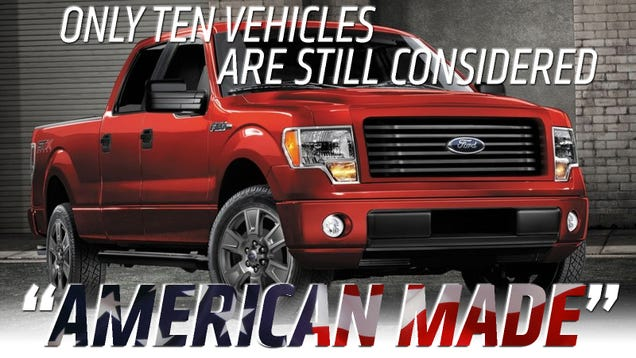 Why The List Of AmericanMade Vehicles Keeps Shrinking