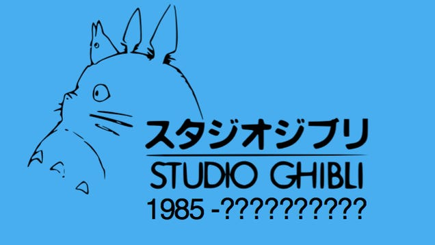 Studio Ghibli Might Quit Making Feature Films, Says Report