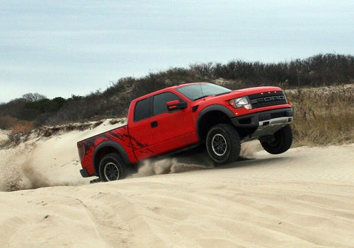 Jumping The Ford Raptor