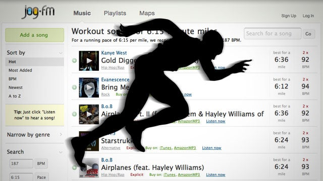 Jog.fm Suggests the Best Music for Your Workout Based on Your Performance