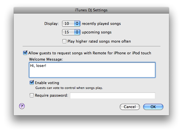 iTunes 8.1 Lets Your Friends Pick Your Music with iTunes DJ