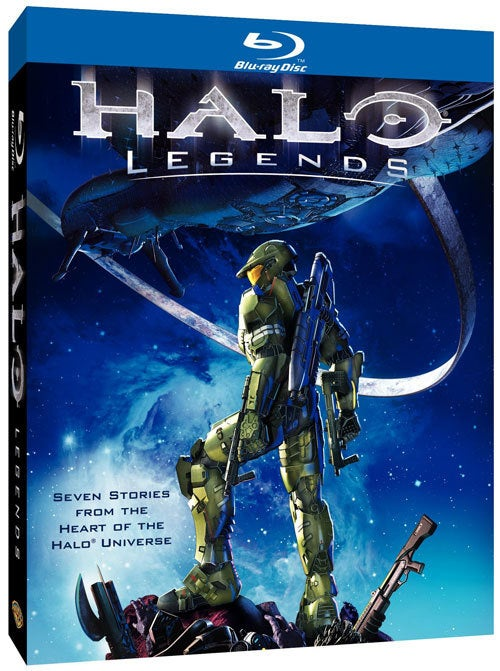 Halo Legends DVD Release Dated And Detailed