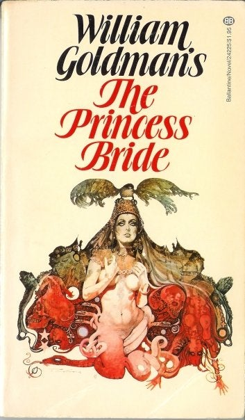 The Princess Bride's bizarrely NSFW cover from the 1970s