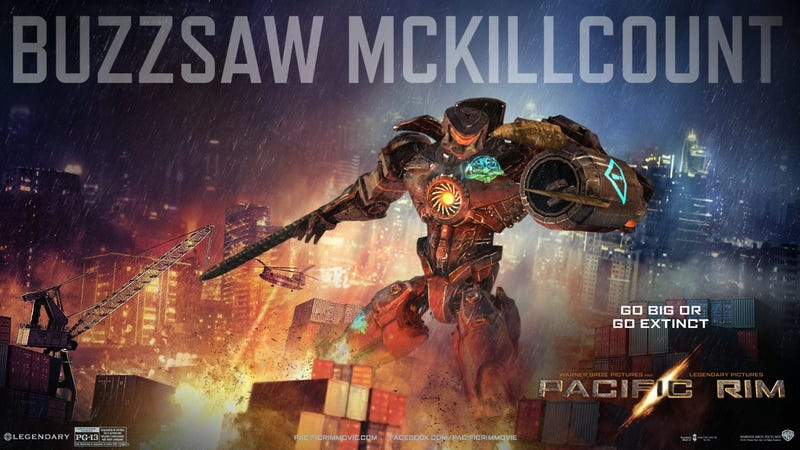 """Pacific Rim's hilarious """"fourth-string"""" Jaegers revealed"""