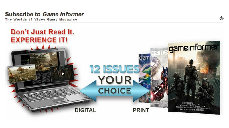 GameStop Says They Won't Mess With Your Game Informer Subscription After All [UPDATE 3]