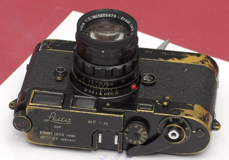 Why Did Someone Pay $104,000 For This Battered Old Camera?
