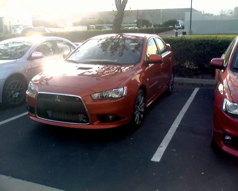 Detroit Auto Show: Is This The 2009 Mitsubishi Lancer Ralliart?